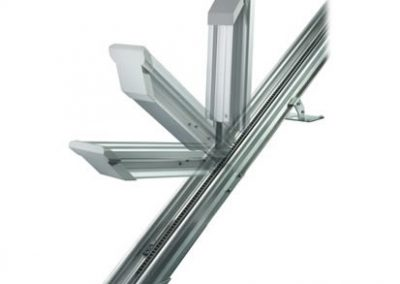 Powered or manual hinge available